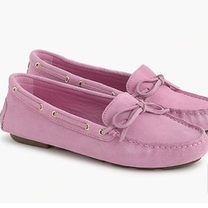 J.Crew NWT Driving Driving moccasins in suede